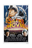 SILENT MOVIE  US poster  Mel Brooks  Marty Feldman  Dom Deluise  1976