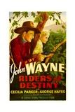 RIDERS OF DESTINY  John Wayne  Cecilia Parker  1933