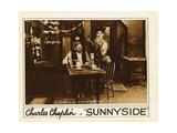 SUNNYSIDE  from left: Tom Wilson  Charlie Chaplin  1919