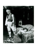 THE SHEIK  from left  Rudolph Valentino  Agnes Ayres  1921