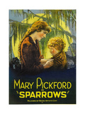 SPARROWS  left to right: Mary Pickford  Mary Louise Miller  1926