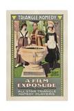 A FILM EXPOSURE  poster art  1917