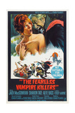 THE FEARLESS VAMPIRE KILLERS  Australian poster  from left: Sharon Tate  Ferdy Mayne  1967
