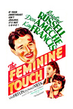 THE FEMININE TOUCH  US poster  Don Ameche  Rosalind Russell  Kay Francis  1941