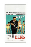 DR NO  Sean Connery  South African poster  1962