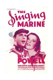 THE SINGING MARINE  from left: Dick Powell  Doris Weston  1937