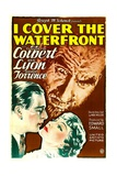 I COVER THE WATERFRONT  from left: Ben Lyon  Ernest Torrence  Claudette Colbert  1933