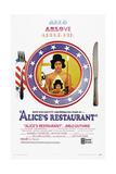 ALICE'S RESTAURANT  US poster  Arlo Guthrie  1969