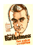 THE CABIN IN THE COTTON  Richard Barthelmess on US poster art  1932