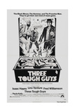THREE TOUGH GUYS  (aka TOUGH GUYS)  from left: Isaac Hayes  Lino Ventura  Fred Williamson  1974