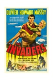 THE INVADERS (aka 49TH PARALLEL)  Laurence Olivier  Glynis Johns  1941