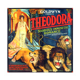 THEODORA (aka TEODORA; aka THEODORA  THE SLAVE PRINCESS)  Rita Jolivet on 6-sheet poster art  1919
