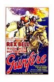GUNFIRE  left: Rex Bell  1935