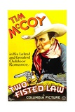 TWO-FISTED LAW  Tim McCoy  1932