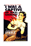 I WAS A CAPTIVE OF NAZI GERMANY  Isobel Lillian Steele  1936