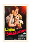 THE SHAKEDOWN  l-r: James Murray  Barbara Kent on poster art  1929