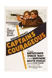 CAPTAINS COURAGEOUS  from left: Freddie Bartholomew  Spencer Tracy  1937