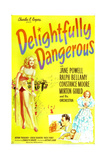 DELIGHTFULLY DANGEROUS  Jane Powell (left)  inset: Jane Powell  Ralph Bellamy  1945