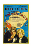 TREASURE ISLAND  from left: Wallace Beery  Jackie Cooper  1934