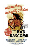 BAD BASCOMB  US poster  from left: Margaret O'Brien  Wallace Beery  1946