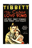 THE CUBAN LOVE SONG  from left on US poster art: Lawrence Tibbet  Lupe Velez  1931