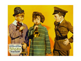 SOOKY  from left on US jumbo lobbycard: Jackie Cooper  Robert Coogan  Jackie Searl  1931