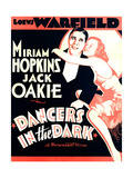 DANCERS IN THE DARK  from left on US poster art: Jack Oakie  Miriam Hopkins  1932