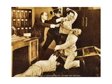 THE GRIM GAME  second from right: Harry Houdini  1919