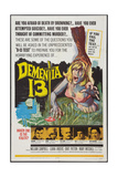DEMENTIA 13  William  Campbell  Luana Anders  Patrick Magee  Bart Patton  Eithne Dunne  1963