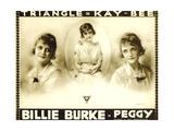 PEGGY  Billie Burke on poster art  1916