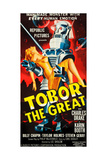 TOBOR THE GREAT  poster art  1954