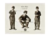 A DOG'S LIFE  Charlie Chaplin on lobbycard  1918
