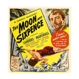 THE MOON AND SIXPENCE  from left: Elena Verdugo  George Sanders on window card  1942