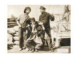 CHASE ME CHARLIE  center: Charlie Chaplin on lobbycard  1918