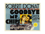 GOODBYE  MR CHIPS  from left: Greer Garson  Robert Donat  1939