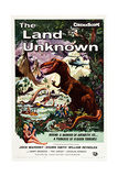 THE LAND UNKNOWN  Shawn Smith  Jock Mahoney  1957