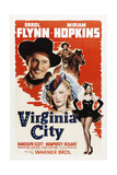 VIRGINIA CITY  Errol Flynn  Miriam Hopkins  1940