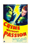 CRIME WITHOUT PASSION  from left: Claude Rains  Whitney Bourne  Margo (aka Margo Albert)  1934