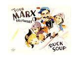DUCK SOUP  from left: Harpo Marx  Zeppo Marx  Groucho Marx  Chico Marx  1933