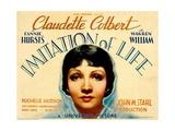 IMITATION OF LIFE  Claudette Colbert  1934