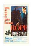 ROPE  poster art  James Stewart  1948