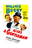 ALIAS A GENTLEMAN  US poster  from left: Tom Drake  Wallace Beery  Dorothy Patrick  1948