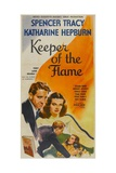KEEPER OF THE FLAME  from left top and bottom: Spencer Tracy  Katharine Hepburn  1942