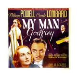 My Man Godfrey  Carole Lombard  William Powell  1936