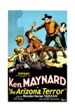 ARIZONA TERROR  second from right: Ken Maynard  1931