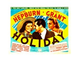 HOLIDAY  from left: Katharine Hepburn  Cary Grant  Doris Nolan  1938