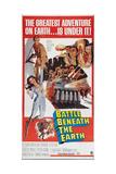 BATTLE BENEATH THE EARTH  from top: Kerwin Mathews  Vivienne Ventura on poster art  1967