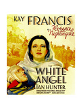 THE WHITE ANGEL  center: Kay Francis on window card  1936
