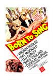 BORN TO SING  US poster  Virginia Weidler  Ray McDonald  1942