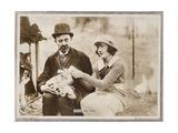 HIS HIDDEN PURPOSE  l-r: Chester Conklin  Marie Prevost on lobbycard  1918